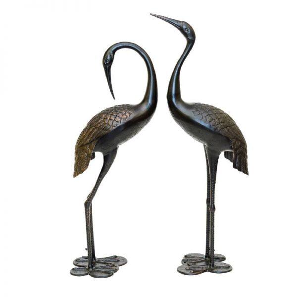 Двойка декоративни фигури на чапли