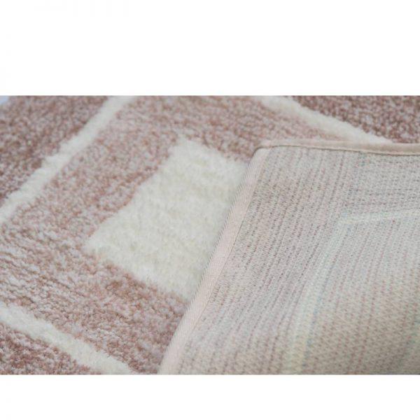 Килим антислип - пепелно розово