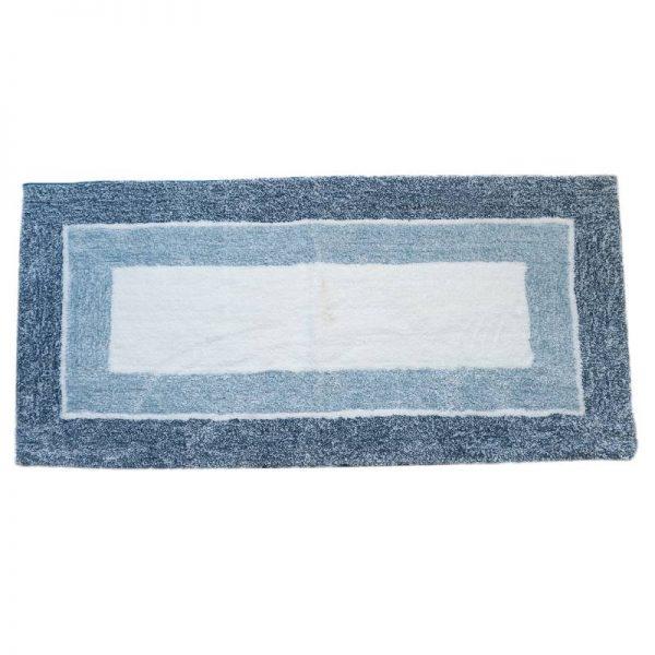 Килим антислип в синьо, 70*140