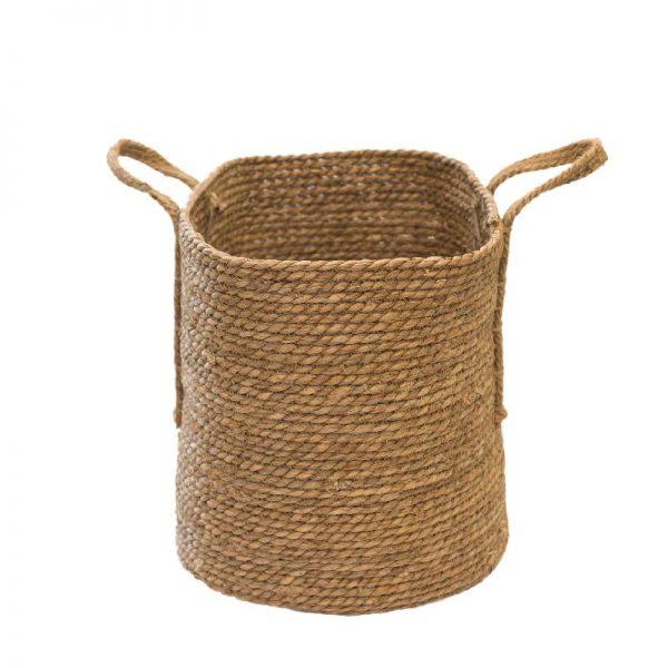 Плетен конопен кош, 3 размера