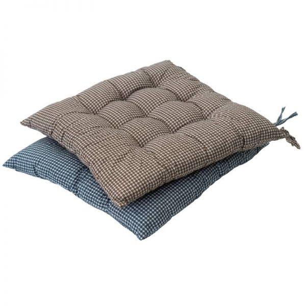 Възглавници за стол - каре, 2 цвята
