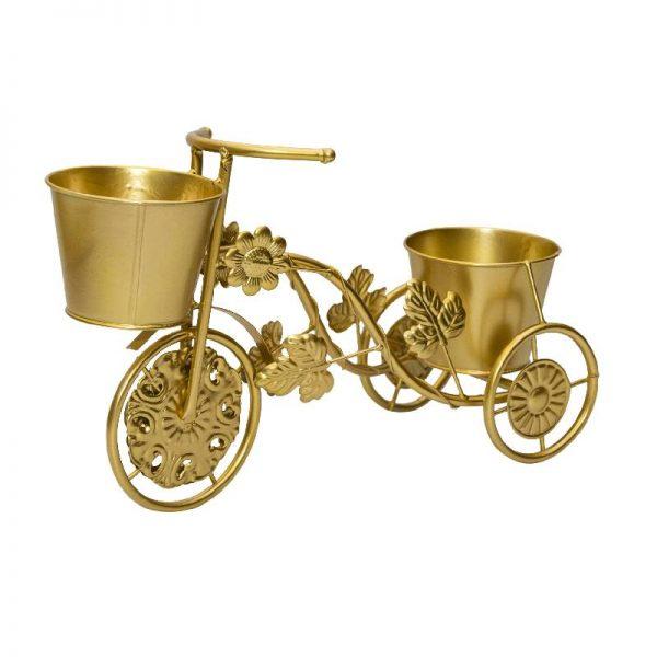 Цветарник колело за 2 саксии