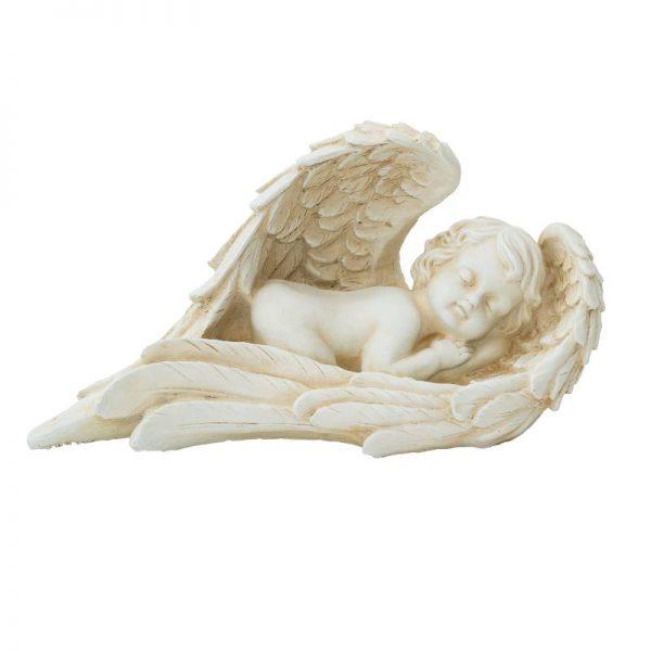 Гипсова фигура ангелче