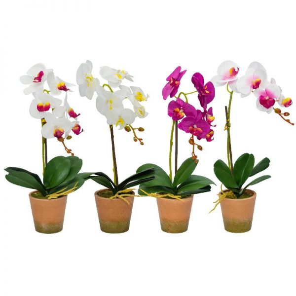 Изкуствена орхидея, 4 десена