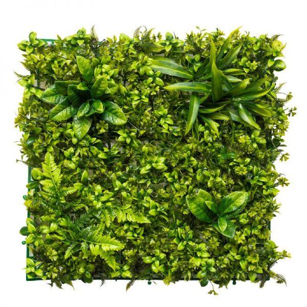 Зелено пано за стена, 50*50 см