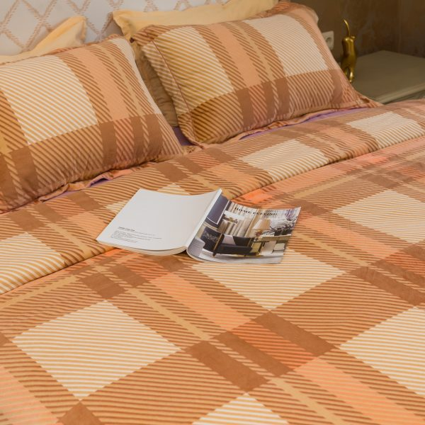 Спален комплект плюш, Brown Cosiness