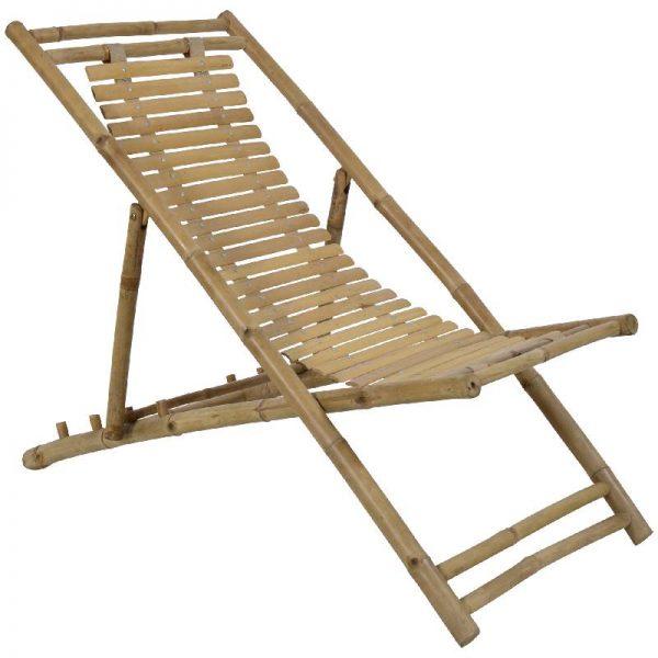Бамбуков плажен стол
