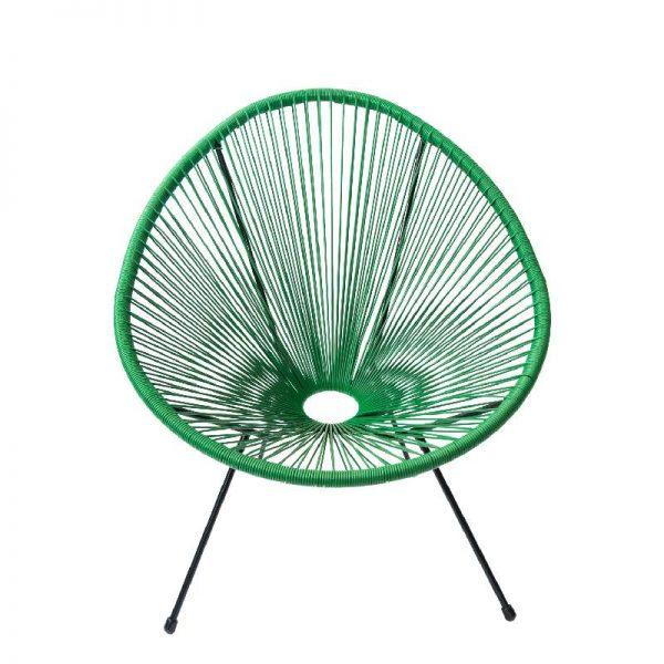 Градински стол в зелен цвят, 74*88*80 см