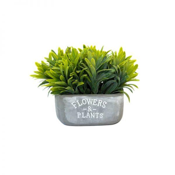 Изкуствено растение в кашпа FLOWERS & PLANTS