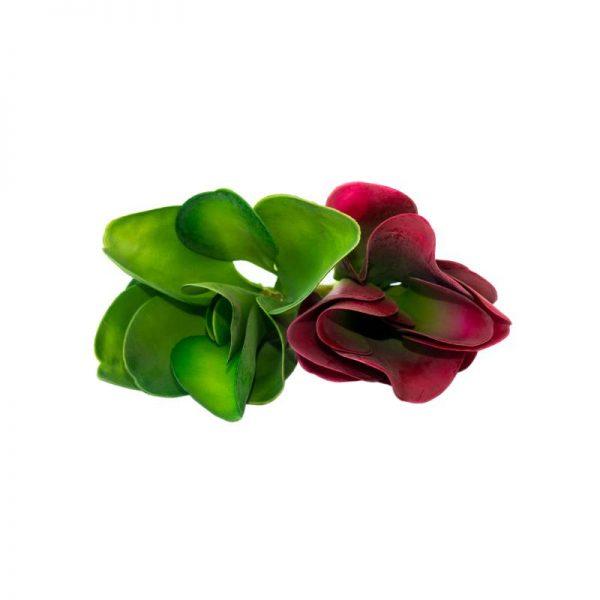 Изкуствено сукулентно растение, 2 цвята