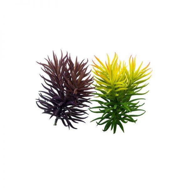 Изкуственo триглаво сукулентно растение