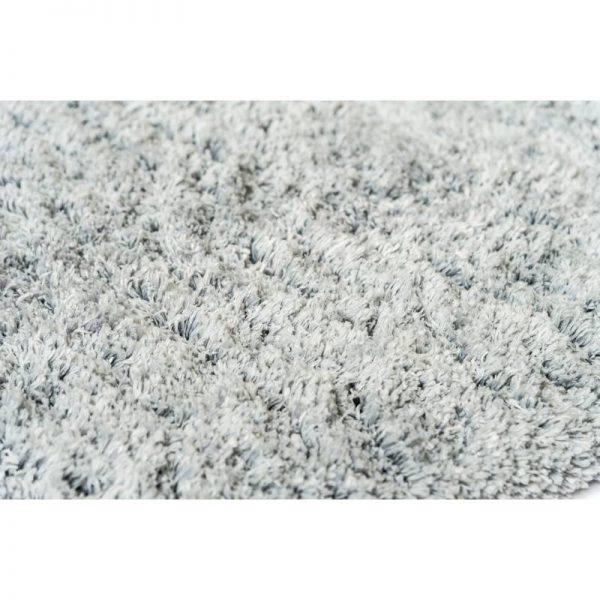 Килим от полиестер - сив цвят, 65*100 см