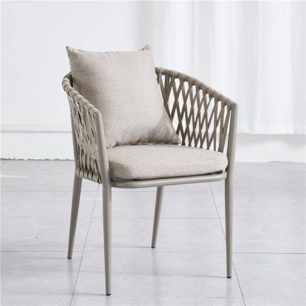 Трапезен плетен стол, 56*61*78 см