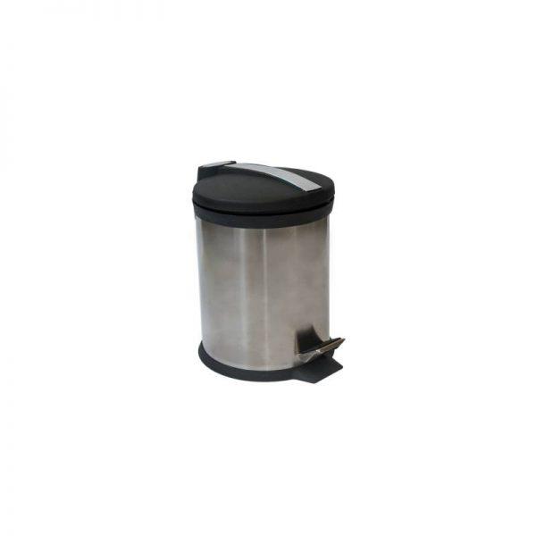 Метален кош за баня, 5 литра