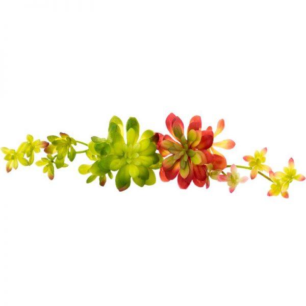Изкуствено растение с разклонения, 2 цвята