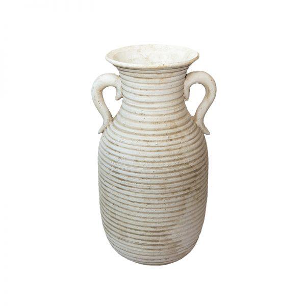 Антична каменна ваза с дръжки, 34*34*59см