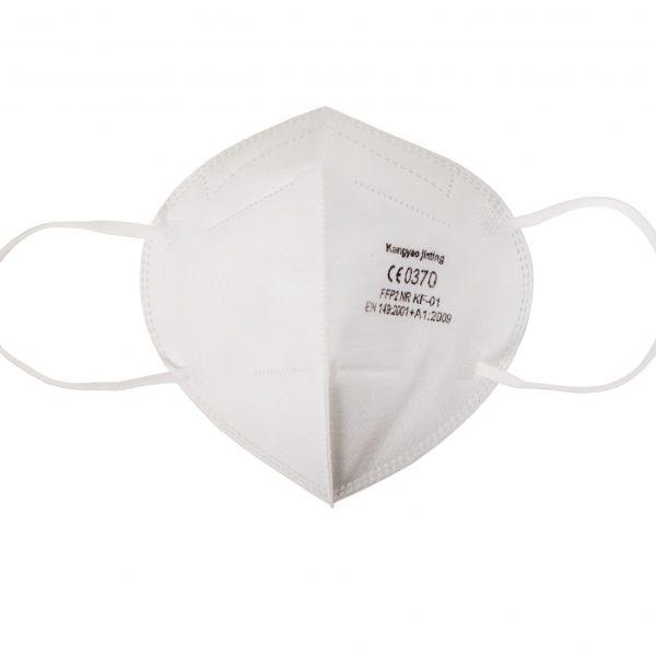 Предпазна маска FFP2, бяла