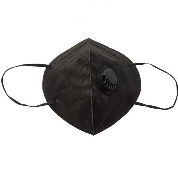 Защитна маска KN95 с клапа, 6 цвята