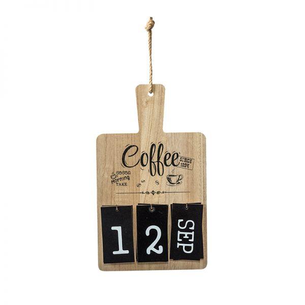 Вечен календар тип кухненска дъска, 19*33см