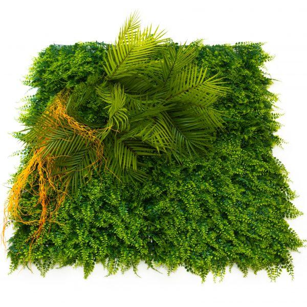 Зелено декоративно пано, модел 5009, 100*100см