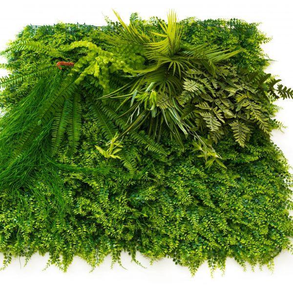 Зелено декоративно пано, модел 5013, 100*100см