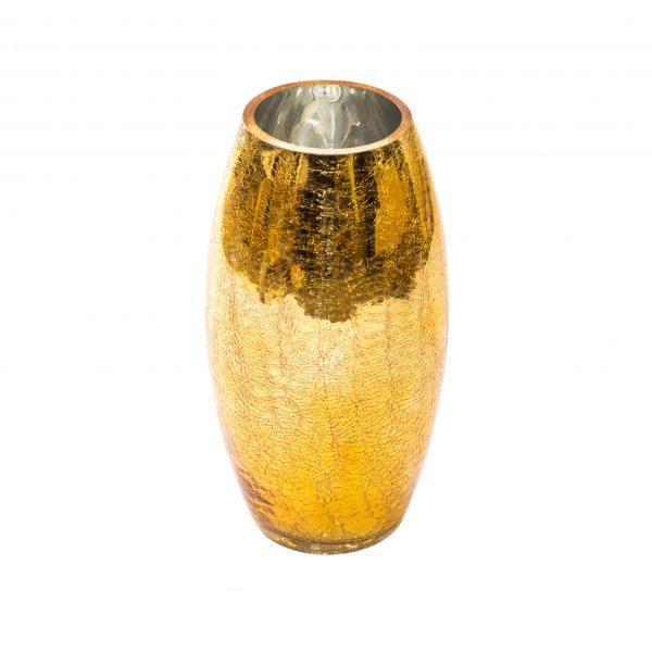 Златна ваза, 15*30 см